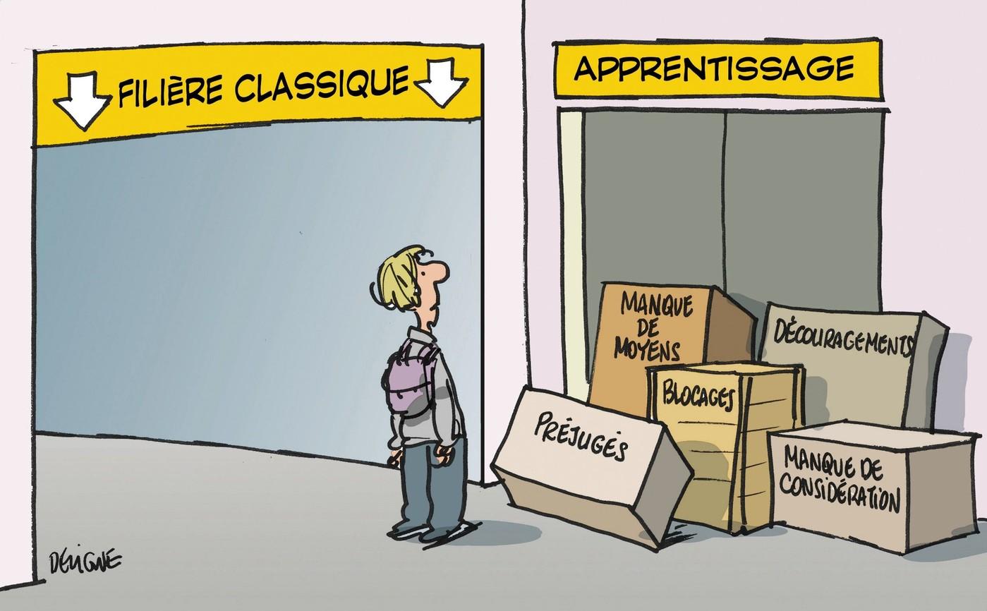 Apprentissage : comment il se déroule ?
